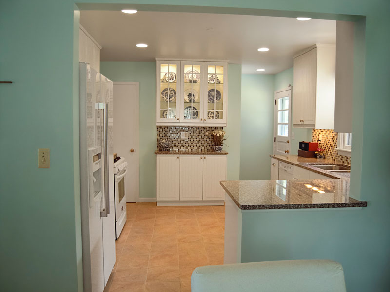 Tale of two kitchens beautiful kitchen on a budget for Kitchen cabinets on a budget